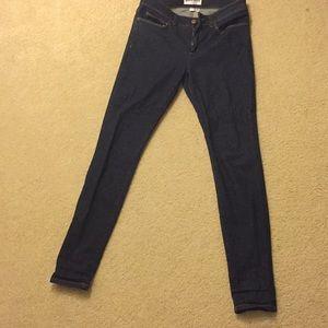 American apparel sized 29 skinny jeans